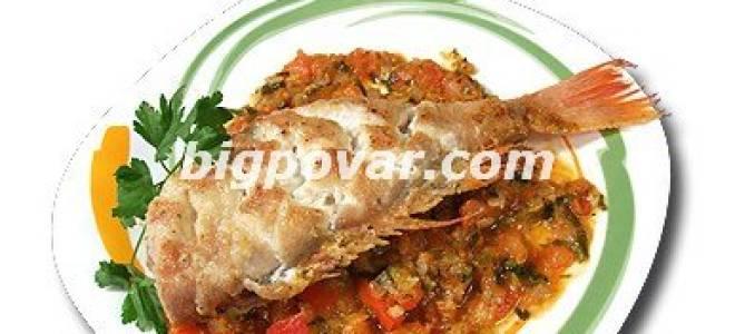 Морской окунь по-провански рецепт