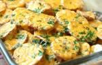 Картошка в духовке с майонезом