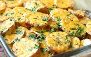 Картошка под майонезом в духовке рецепт