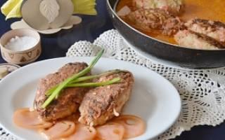 Ленивые голубцы на сковороде рецепт