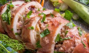 Фаршированные кальмары рецепт