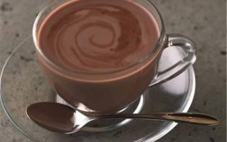 Кофе с какао рецепт