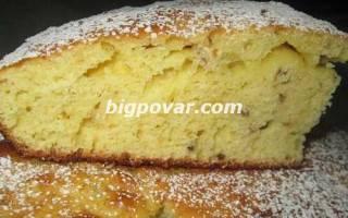 Бисквитный пирог с утиными яйцами рецепт