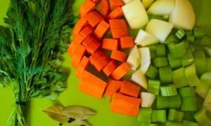 Овощной бульон рецепт