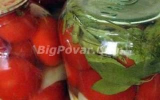 Консервированные помидоры от бабушки рецепт