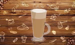 Раф-кофе с лавандой рецепт