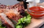 Свиные ребрышки в духовке рецепт