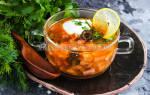Солянка с колбасой рецепт