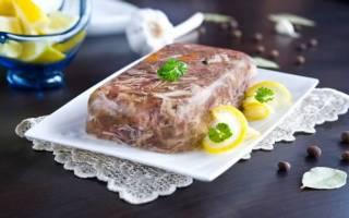 Холодец из свиной рульки рецепт