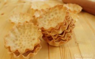 Песочное тесто для тарталеток