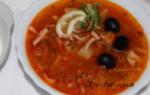 Солянка с колбасой: рецепт с фото пошагово, простой рецепт