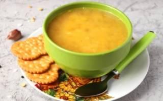 Гороховый суп без мяса рецепт