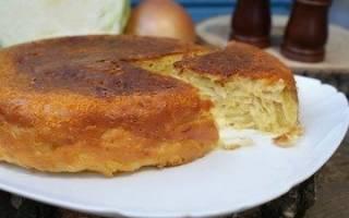 Пирог с капустой в мультиварке рецепт