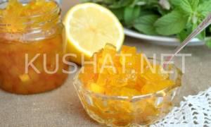 Варенье из арбузных корок с лимоном рецепт