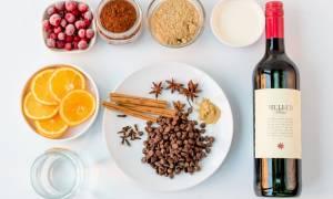 Глинтвейн с апельсином и корицей рецепт