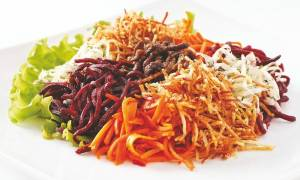 Салат Чафан: рецепт с фото пошагово, с корейской морковью