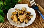 Рецепты приготовления маринованных мидий рецепт
