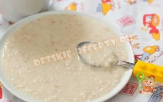 Овсяная каша на молоке в мультиварке рецепт