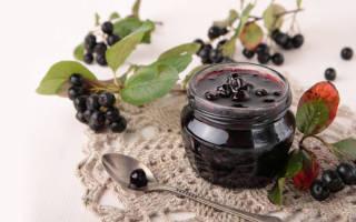 Варенье из черноплодной рябины через мясорубку рецепт