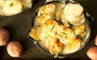 Гратен из картофеля: классический рецепт, с фото пошагово