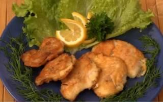 Рыба в кляре рецепт
