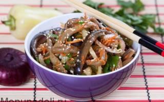 Салат баклажаны по-корейски рецепт