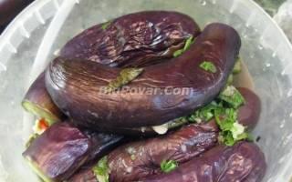 Баклажаны, маринованные целиком рецепт