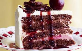 Торт Черный лес рецепт