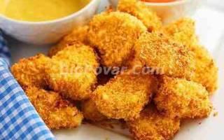 Гарнир к куриным наггетсам рецепт