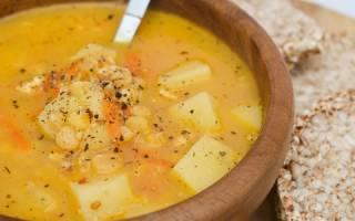 Постный гороховый суп рецепт