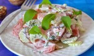 Салат из стеблевого сельдерея рецепт