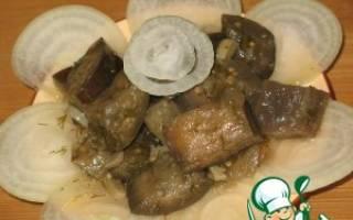 Закуска баклажаны под грибы рецепт
