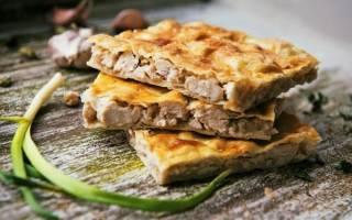 Быстрый мясной пирог рецепт