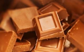 Домашний молочный шоколад