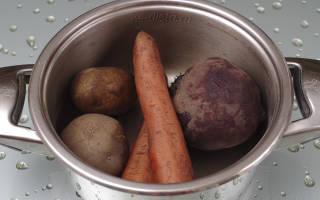 Винегрет из овощей рецепт