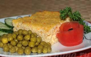 Рыбное суфле для ребенка