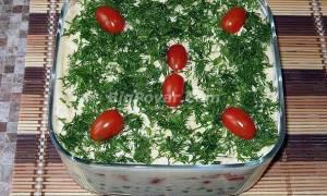 Салат Боярский с бужениной рецепт