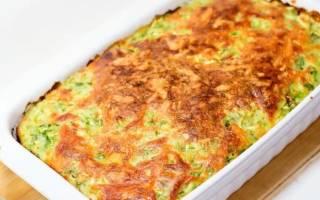 Запеканка из кабачков с сыром в духовке: рецепты с фото