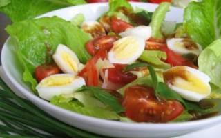 Салат с перепелиными яйцами рецепт