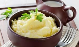 Толченый картофель со сливочным маслом рецепт
