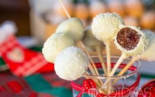 Шоколадные кейк-попсы из печенья