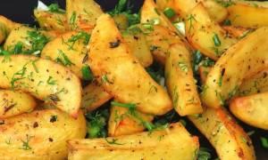 Картошка по домашнему в духовке рецепт