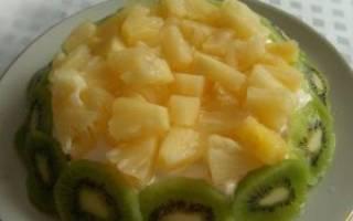 Салат с ананасом и куриной грудкой слоями: рецепт с фото