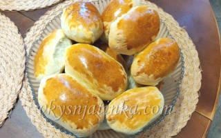 Пирожки с квашеной капустой