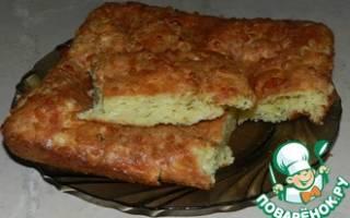 Хачапури с творогом и сыром из слоеного теста: рецепт с фото