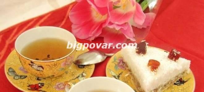 Постный бананово-кокосовый торт рецепт
