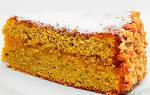 Морковный постный торт рецепт