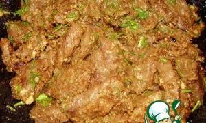 Азу из говядины с солеными огурцами рецепт