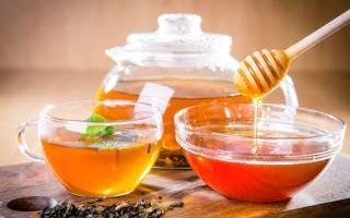 Чай с медом рецепт
