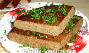 Печеночное суфле в мультиварке рецепт